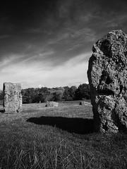 Megalith at Stanton Drew (jonathan charles photo) Tags: bw art topf25 stone circle photo jonathan drew charles stonehenge avebury neolithic sranton