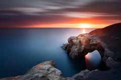 Saddle Rocks, Cullercoats Bay (Alistair Bennett) Tags: longexposure seascape sunrise bay harbour northsea tynemouth tynewear nd30 cullercoates saddlerocks canonef1740mm4lusm gnd075he