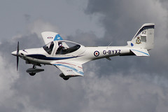 Grob G115E Tutor VT Aerospace Ltd/RAF - Royal Air Force G-BYXZ (NTG's pictures) Tags: show andy by wings force air wheels royal and flt displayed vt lt aerospace dunsfold preece tutor 2014 grob g115e gbyxz ltdraf