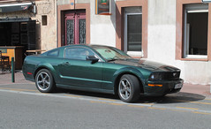 Mustang Bullit (xwattez) Tags: street france ford car pub automobile voiture american mustang transports toulouse rue 2014 bullit vhicule