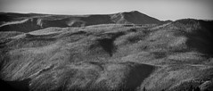 N. Twentymile fire lookouts and their charred domain (D. Inscho) Tags: monochrome lookout wilderness pasayten bauermanridge northtwentymile