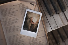 (DiggieVitt) Tags: flower art church polaroid fine piano gift