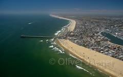 Newport Beach (olijaeger) Tags: california beach landscapes pier surf wave surfing newport aerialphotography kalifornien luftaufnahmen oliverjaeger