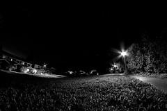 (M_Heigl) Tags: light sky urban bw night stars tie fisheye citylight niitty nikond90 kevari
