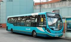 The single deck revolution (J.J.Pay 8581) Tags: bus 5 leicester transport wright midlands arriva wrightbus streetlite fj62fot
