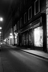 later (flyerkat_L.E.) Tags: vienna city nightshot film analog praktica mtl5b rolleirpx400 monochrome bw black white 35mm