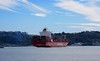 HAMBURG SUD FART (Honevo) Tags: hamburg sud fart pollution boats cargos