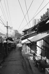 old street (liyangzao) Tags: street chongqing china epson epson4490 28mm film fe foma fomapan200 analog nikkor nikon nikonfe bw 35mm