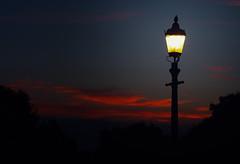 Primrose Hill (bjg_snaps) Tags: sunset london dusk streetlight streetlamp gaslight primrosehill