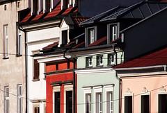 Kazimierz, Krakow, Poland August 2015 (Juha Riissanen) Tags: krakow poland kazimierz buildings facades windows walls roofs architectural architecture colours jewish