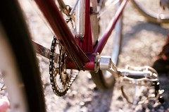 Jo Routens BB lugged BB shell (Karibouski) Tags: joroutens bourdel vintage bicycles frenchconstructeur constructeur randonneur randonnee ffct edelbikes victoirecycles randobro randovibes french goldenage handbuiltbicycles canon ishootfilm analog filmisnotdead