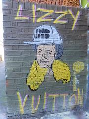Endless stencil, Shoreditch (duncan) Tags: graffiti shoreditch bricklane endless stencil