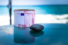 Ten Euros (robertofaccenda.it) Tags: beach ciclades cicladi fujifilm grecia greece holydays mar mare playa praia santorini sea spiaggia vacanze vacation