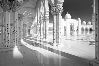 Grand Mosque - Abu Dhabi #3