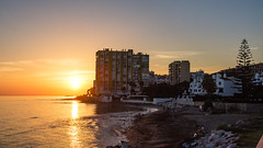 Dona Lola 15 October 2016 (BaggieWeave) Tags: spain andalucia mijascosta calahonda donalola sunset seaside shore coast waterfront landscape reflection beach costadelsol