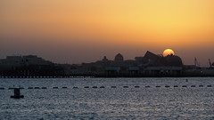Doha sunset (edlondon27) Tags: doha qatar sunset middle east pearl