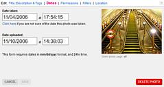 10 years of Flickr (Tetramesh) Tags: tetramesh london england britain greatbritain gb unitedkingdom uk swisscottagetube swisscottageunderground swisscottagestation thetube londenmetro nw3 nw36hy flickr