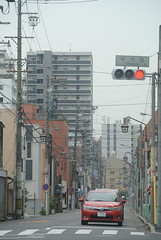 nagoya15992 (tanayan) Tags: town cityscape urban aichi nagoya japan nikon j1    road street alley car automobile toyota   corolla