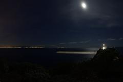 Notturno3 (LifeReporter) Tags: nightsky nightcolors nightislands nature sky night sea landscape naples notte isole paesaggio faro napoli capri miseno baia di