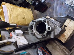 Laygear out of the way (37114) Tags: land rover fairey overdrive rebuild