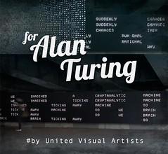 Arte e poesia per ricordare Alan Turing (ViaggioRoutard) Tags: arte turing londra
