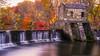 Fall at Speedwell Park (mhoffman1) Tags: morristown nj sonyalpha whippanyriver a7r autumn dam fall longexposure seasonal stone waterfall newjersey unitedstates