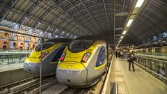 374002 - London St Pancras - (20-11-16) (Fred Ellis -) Tags: eurostar e320 class 374 374001 london st pancras 9o64