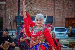 TaDa! (slammerking) Tags: belllydancer gypsie red jewlery dance dancing costume wichitaks colors colorful mature