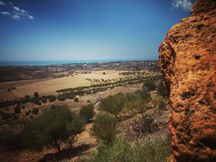 View to the sea from the Valli dei Templi. Much the same as it was in ancient times #outdoors #history #greek #sea #view #sicily #italy #travel (dewelch) Tags: ifttt instagram view sea from valli dei templi much same it was ancient times outdoors history greek sicily italy travel