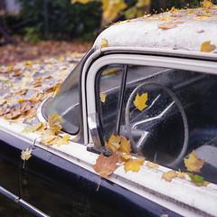(.tom troutman.) Tags: bronica sqai film analog 120 6x6 mediumformat nj cedargrove autumn fall car 80mm dof fuji pro 160