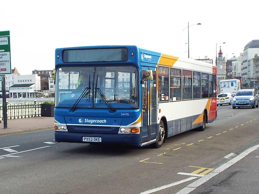 PX53DKE (47604) Tags: px53dke 34478 stagecoach dart bus margate
