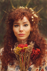 Autunno (Zhaire Estudio) Tags: otoo autumn photography artphotography art red orange fashionphotography redhair photoshop retuch
