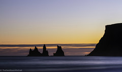 Reynisdrangar Vik (Justinas Pukys) Tags: basalt sea vik iceland myrdal black sand beach