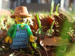Giant Farmer (captain_joe) Tags: toy spielzeug 365toyproject lego series15 minifigure minifig farmer