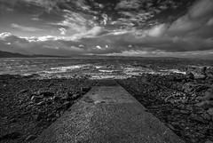 Towards The Sea (Ian Latham) Tags: scotland highlands loch sea water sky clouds aurorahdr
