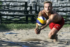 Locked it (Beach Volleyball.) Tags: volleyball beachvolleyball sport sports action photo photography locked man lockedin canon 7d boy canon7d dannyboy montreal quebec canada ef135mmf2lusm