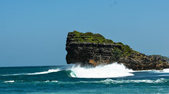 ombak benar (torelli marco) Tags: waves bodyboard surf onda embark bear watu charring java indonesia foam rocks landscape reef big paradise light sky