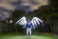 Angel (MISHKA Vision - Light Graffer) Tags: australie australia lightpainting lightgraff longexposure expositionlongue nightphotography roadtrip