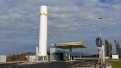 Estación de servicio de ENI Pontedera - Italia -