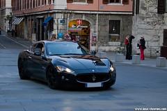 Spotting 2012 - Maserati GranTurismo (Deux-Chevrons.com) Tags: maseratigranturismo granturismo maserati exotic exotics supercar sportcar gt paris france spot spotted spotting croisée rue street auto automobile automotive car coche
