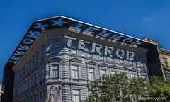 It's the House of Terror Museum | TrinDiego (TrinDiego) Tags: budapest buda pest europe european candid street city trindiego catchy colour hungary hungarian