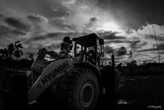 Can't you see you're not the only one (.KiLTRo.) Tags: provinciadeorellana ecuador kiltro field coca bw outdoor sky clouds monochrome