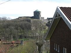 Bohus castle (Bohus fästning) seen from Källiden, Kungälv, 2010 (biketommy999) Tags: 2010 bohusfã¤stning castle fortress kulturminne fästning bohuslän kungälv