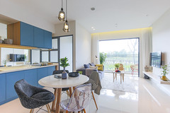 Palm Heights 2BS (Kalenty) Tags: palm heights city house home kitchen bedroom decor furniture architecture interior vietnam asian asia saigon hochiminh two toilet wc blue