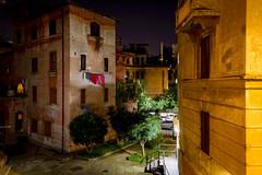 (massimopisani1972) Tags: garbatella roma rome italia italy nikon 28300 quartieregarbatella cortile notturno night notte luci lights lampioni massimopisani massimo pisani d610 20300