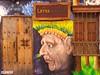 ANCIENT TREASURE (emilioescalona) Tags: colombia bogotá southamerica facades puertasyventanas streetart graffiti spraypaint artecallejero details