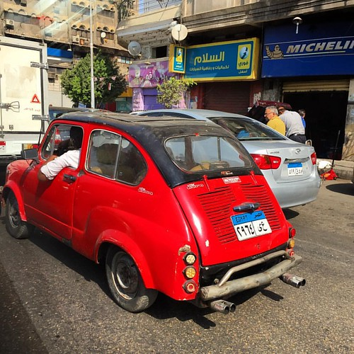 Super car 🚗  #cairo #egypt #egipto #coche #carro #auto #ibili #bili #red #autoporn #instaauto #automotive #autos #instacar #instagram #instaworld #city #urban