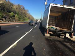 New striping on Highway 30-3.jpg (BikePortland.org) Tags: bikelanes dirty30 highway30