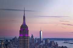 2016_08_07_NYC_10YearAnniversary_6D_0803 (AbovetheLineEntertainment) Tags: 30rock canon6d empirestatebuilding newyork nyc rockefellercenter skyline sunset topoftherock