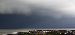 Dark Cloud approaching (sgl0jd) Tags: penrhynbay colwynbay clouds sea storm squall